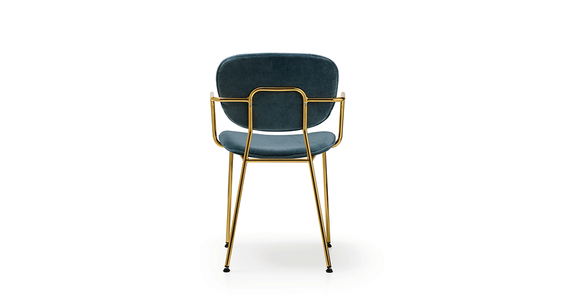 Sagal Group Sagal-Olga-in-velvet-and-gold Still on Trend: Co-Working Spaces Blog Product UPDATES Interior design  trends collaborative space seating office design