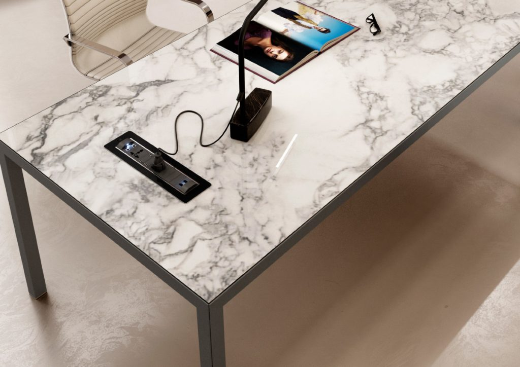 KAY4 marble effect worksurface