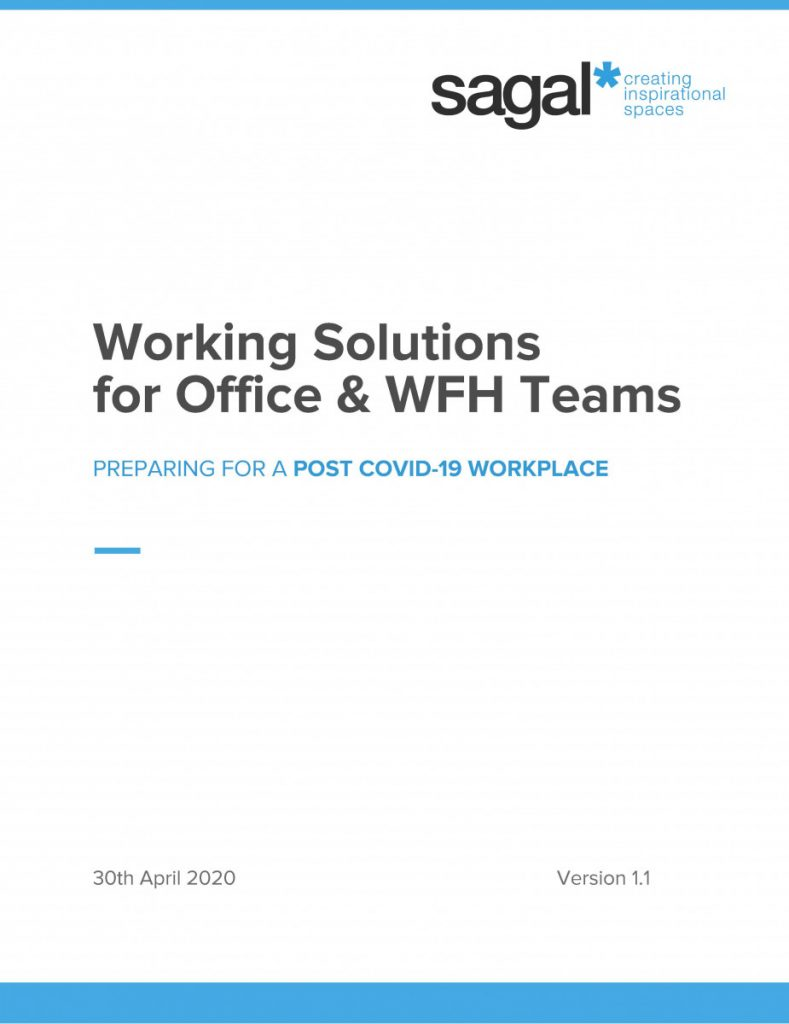 Sagal Group - Working Solutions for Office & WFH Teams - COVID 19 Workplace