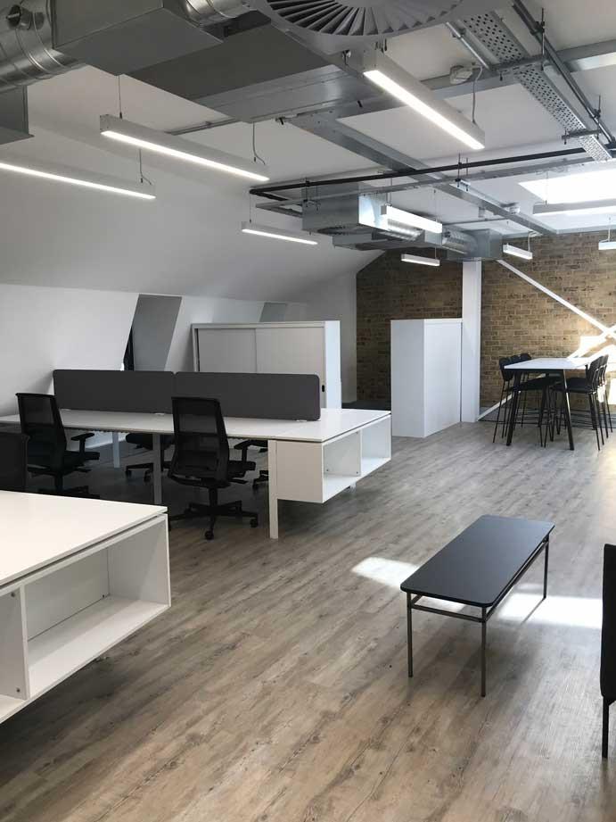 CATA Plus office interior clerkenwell