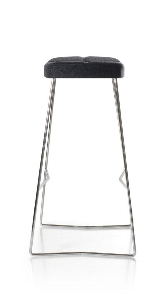 Osvaldo backless bar stool